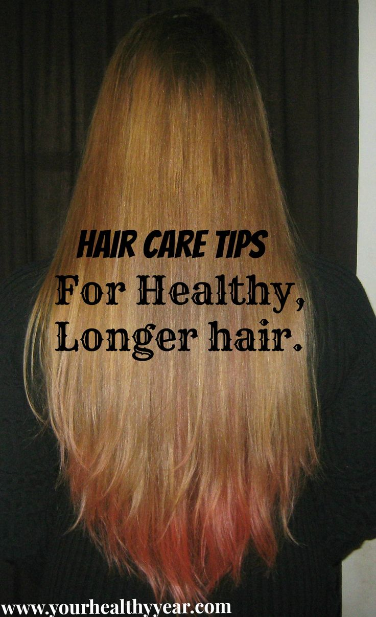 Twelve hair care tips for keeping your healthy, and