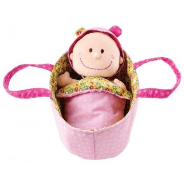 Lilliputiens - Baby Chloe Soft Cradle Doll