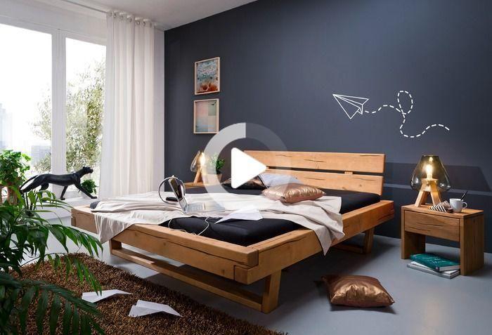 Be 0280 Massivholzbett 180 X 200センチメートル Living Room Decor Apartment Decoration Maison Lit Bois