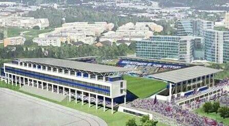 Vålerenga stadion, Oslo - åpner sommeren 2017. ⚽