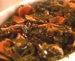 Chef G. Garvin collard greens are the BEST. I have mastered these over the last 6 years.: Recipe Boxes, Boys Chef, Collard Greens, Chef G. Garvin, Best Collard Green, Case, I'M, Garvin Collard, Turkey Bacon