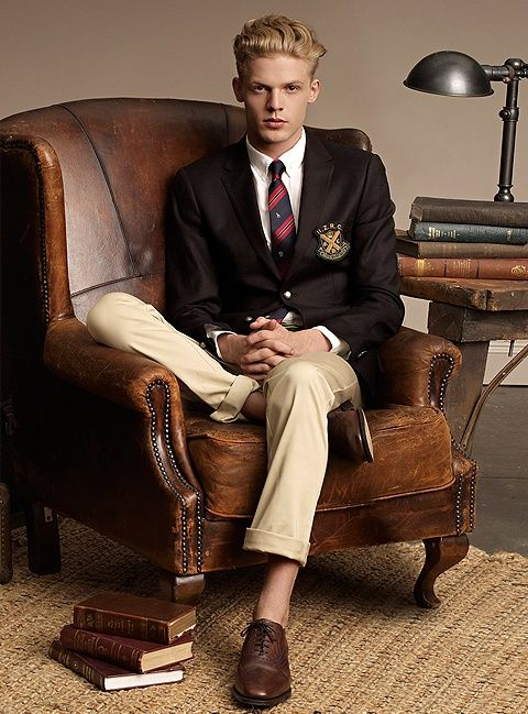 Preppy style, ivy league