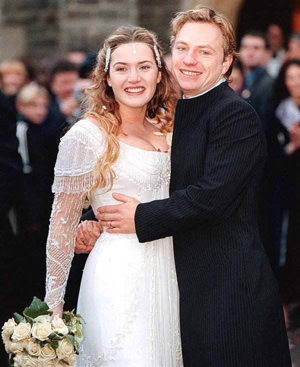Kate Winslet marries Jim Threapleton - Kate Winslet's life in photos