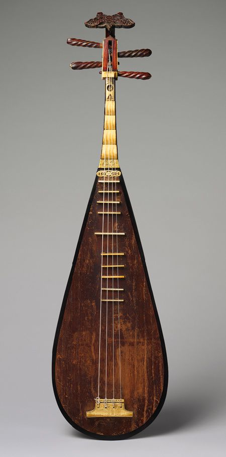 Pipa, Ming dynasty (1368–1644), late 15th–early 16th century China
