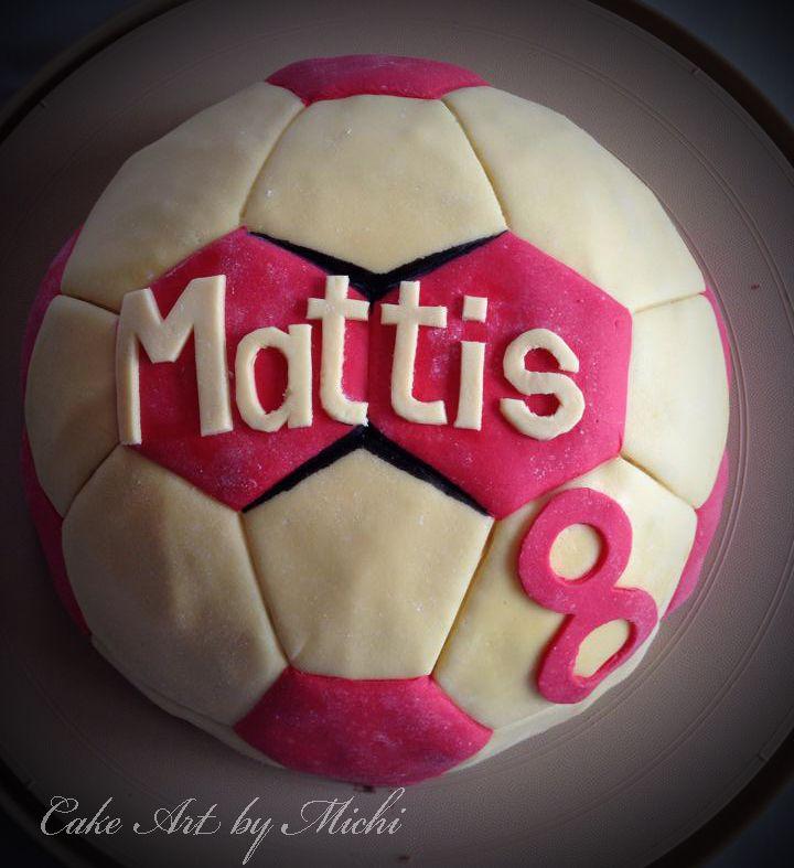 Handball Cake / Handball Torte | Cake Art by Michi ...