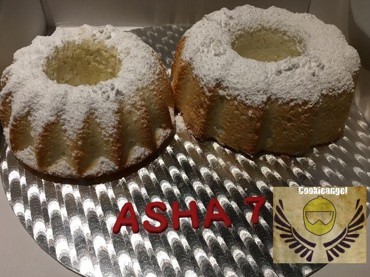 Asha hace 7 años y un angel cake va genial #lactosefree #cake#birthdaycelebration #party #angelcake