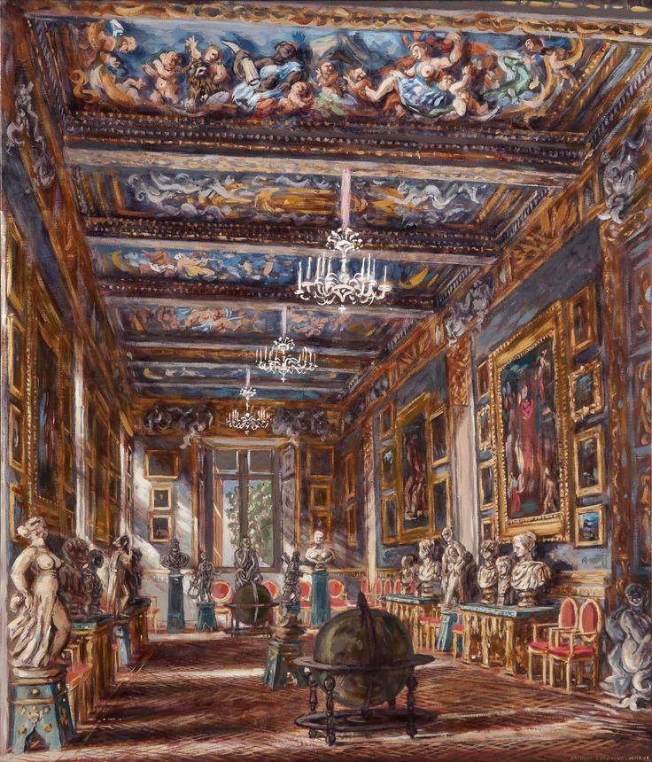 Philippe Casanova; Spada gallery; oil on canva; 2016