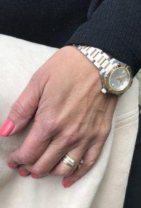 Det smukkeste ur fra Tag Heuer og Dansk Designede ringe af Guldsmed Johan Veje.