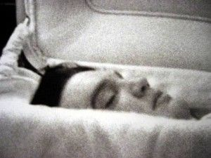 Elvis Presley, post mortem. Sad day.   Was living in Memphis & cried myself to sleep the day he died