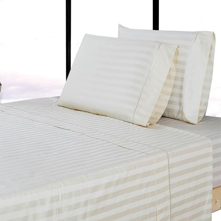 Bring style and comfort into any bedroom with Affluence Home Fashions 300 thread count sheet set. Using only high-quality cotton, these sheets were woven in a contemporary sateen weave, which offers a slight sheen on the surface of the linens. This, along with a double-needle decorative stitch on the hem, contributes to their bold and stylish appeal. Fitted sheets feature thick elastic edging and 15-inch pocket depth to ensure a good fit of most mattress sizes. To ensure utmost quality…