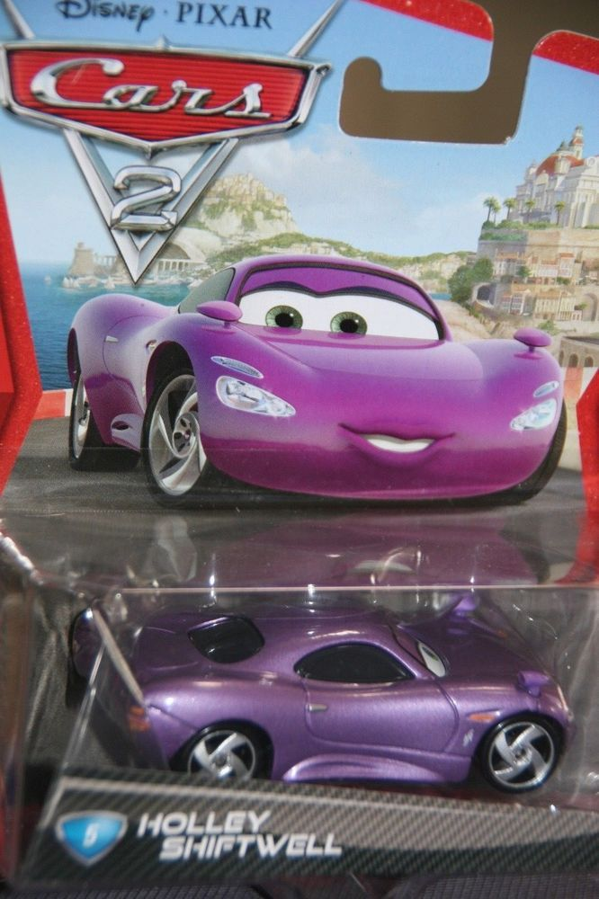 Disney Pixar Cars 2 Holley Shiftwell New In Package Rare Imperfect Package Disney Pixar Cars Disney Pixar Pixar