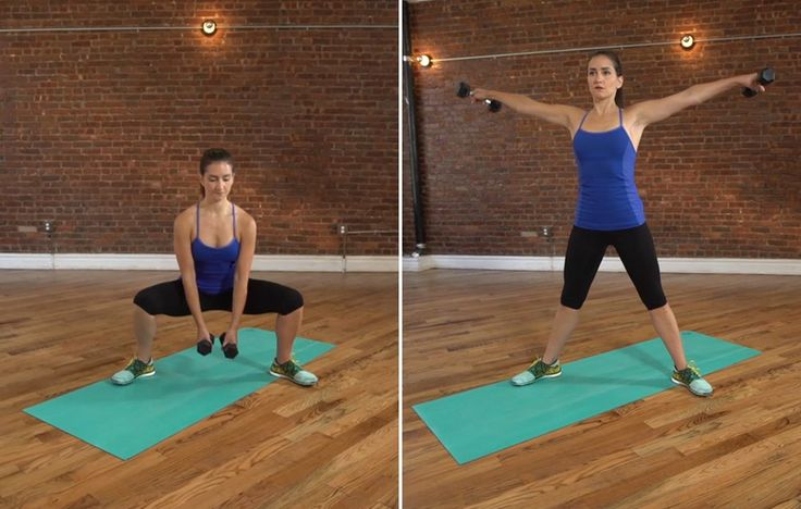 10 Total-Body Combo Moves That'll Blast Fat and Cut Your Gym Time in Half