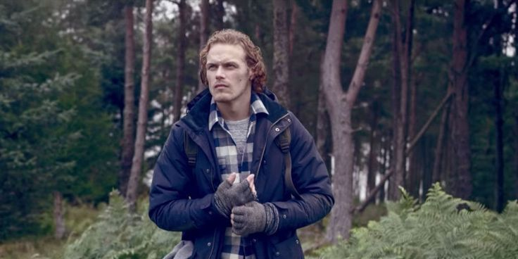 <i>Outlander</i> Star Sam Heughan Shows You How to Be Rugged as Hell This Holiday Season