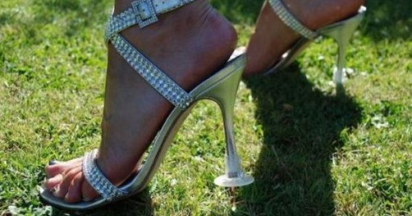 Are you having your wedding at a beautiful beach or lawn location but are afraid to wear those fabulous 5-inch heels? Fret no more, because Heel Stoppers will m