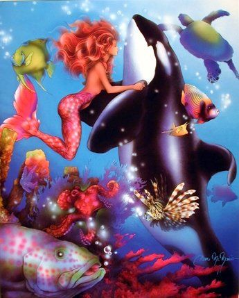 A variety of beautiful colors help to bring elegant style to any place in your home. This lady mermaid fantasy wall decor brings a nice change into your living room or entryway space. It will also help to bring modern twist of nature into your home decor pattern. What are you waiting for? Grab this wonderful poster for its durable quality with a high degree of color accuracy.