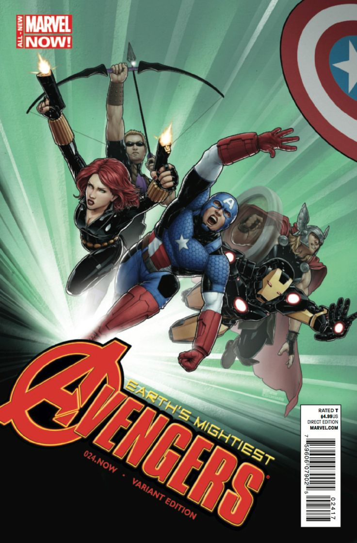 Avengers #24 - Rogue Planet - Christopher variant  (Issue)