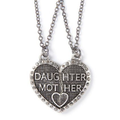 22 best mother and daughter jewerly images on pinterest mother mother daughter half hearts magnetic pendant necklaces set of 2 aloadofball Gallery