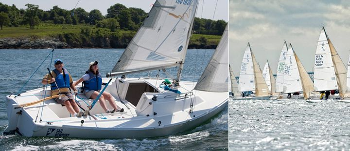 Sail Newport - J/22 rentals (Sailing Programs > Adult Sailing > Sailboat Rental)