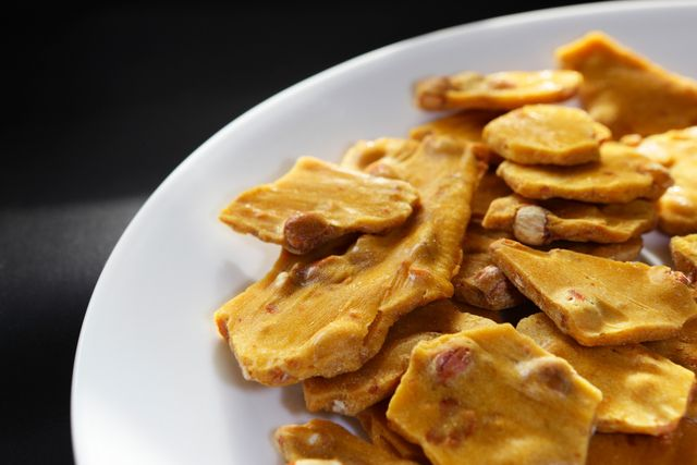 Make This Easy Peanut Brittle in Your Microwave