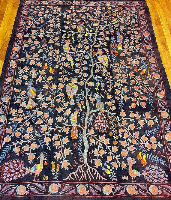 Suzani Tree of life handmade from Bukhara