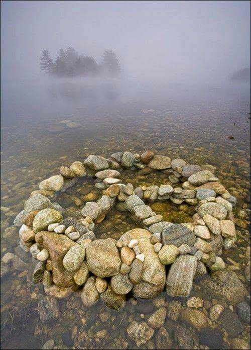 I'm going to start doing this as much as I can whenever I see a bunch of rocks. Who knows maybe I'll carry a bagful in my car and just stop and make a peace sign whenever I feel like it. Peace throughout the world.     ~ Terrylyn