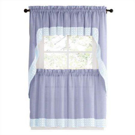 Top 25 ideas about Blue Kitchen Curtains on Pinterest | Kitchen ...