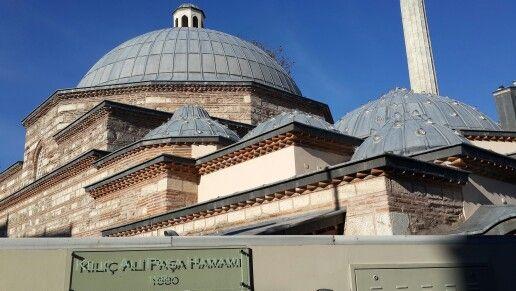 Kılıç Ali Paşa Hamamı, Karaköy Beyoğlu, İstanbul