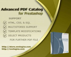 Advanced #PDFCatalog extension for Prestashop is an intuitive and powerful tool for #generatingPDF document based on #products user has selected.  #Ovologis #extension #ecommerce #Template #PDF #Prestashop  #store