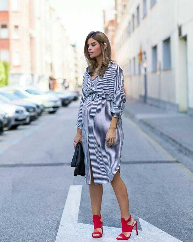 diseño atemporal ff183 d22ec Ropa para embarazadas +30 tendencias en moda premamá con ...