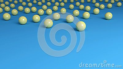 Yellow Marbles Background Top Border - (C) Celia Ascenso 2014