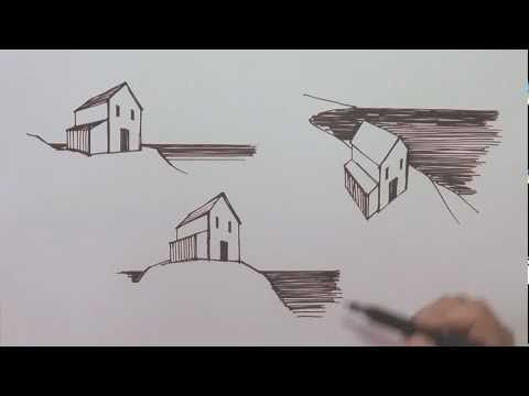 Linear Perspective in Drawing - YouTube