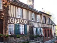 PLus beau village de France  en Pyrénée orientale, au pied du Mont Canigou.