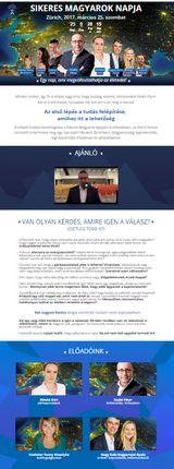 Weboldal megvalósít - megvalosit.hu Fantasztikus rendezvények oldalai - weboldalak készítése