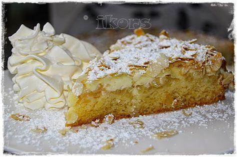 Kochen....meine Leidenschaft: Apfelkuchen mit Mandelkruste