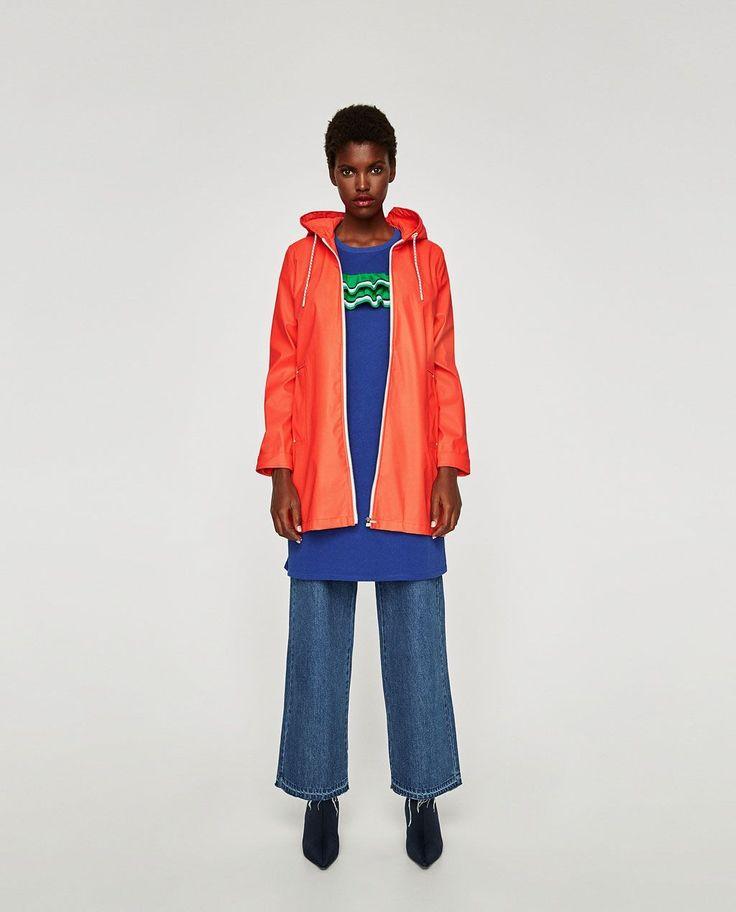Rainy Day Outfits: Chic Rain Fashion for Bad Weather—Zara #RaincoatsForWomenWeather #RaincoatsForWomenChic