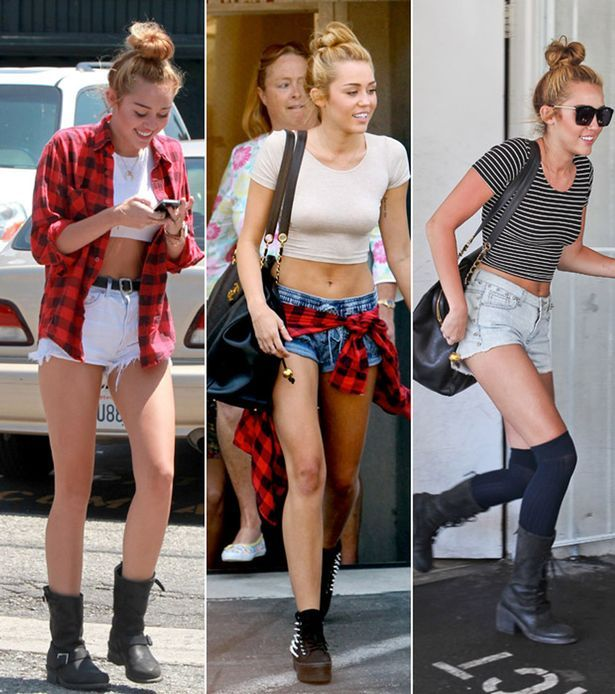 Miley over the last three days: hot. Or er, hotpants.