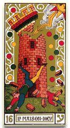 El arcano número diez y seis del Tarot se llama La torre, o también La casa de Dios. El número diez y seis al ser reducido se transforma en siete, por lo cual esta carta habla de una energía divina y la energía que está relacionada con el número que se asocia al ser humano regido por las leyes divinas, a los septenios o etapas que regulan los ciclos y a todo lo que se multiplica a partir del número siete. Si miramos el dibujo veremos una imagen muy espectacular, se ve a una torre atacada por…