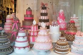 beautiful cake buffet