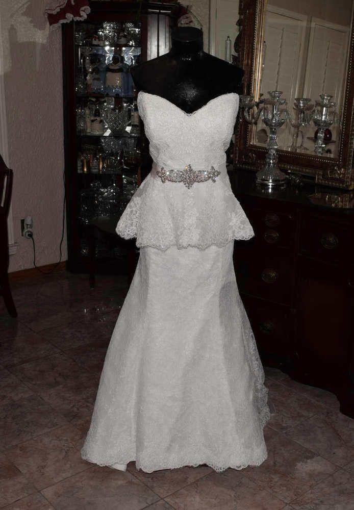 Wedding Dresses Size 14 eBay