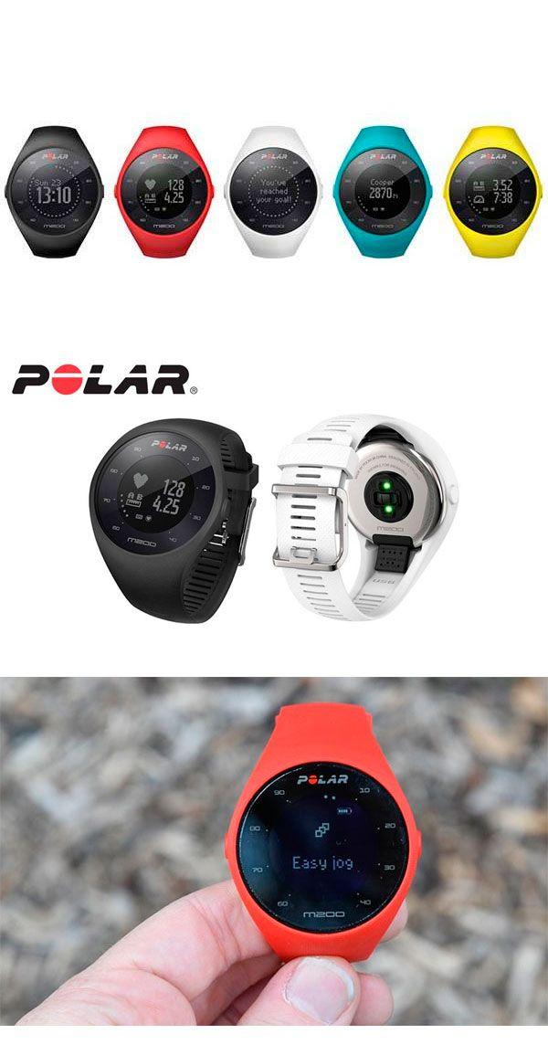 #PolarM200 : умные часы для бегунов