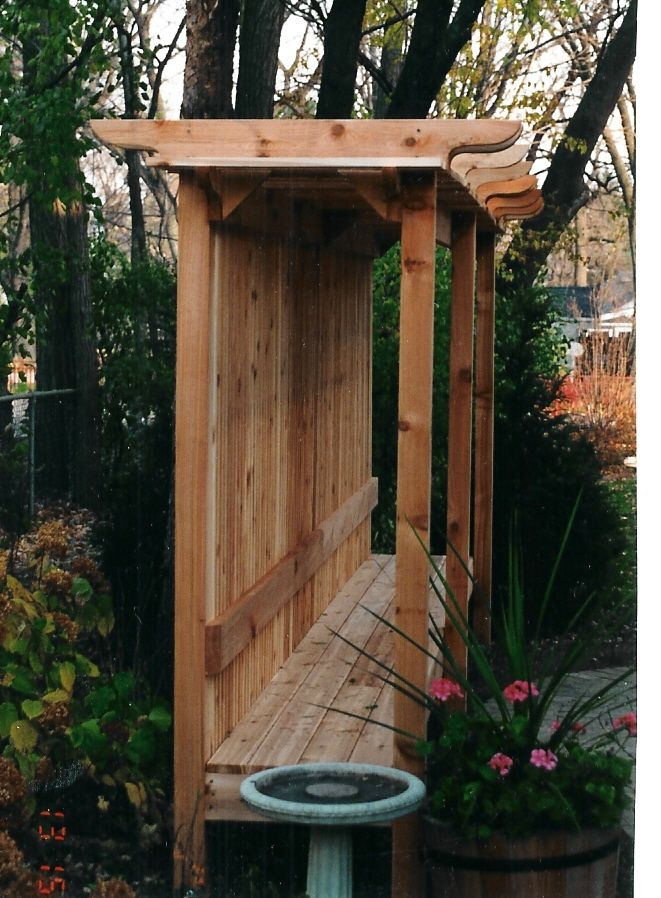 1000+ images about Bench and Arbor on Pinterest ...