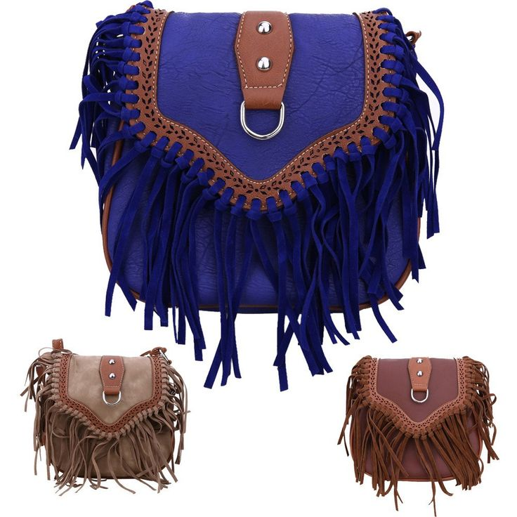 Retro Tassels Leisure Handbag
