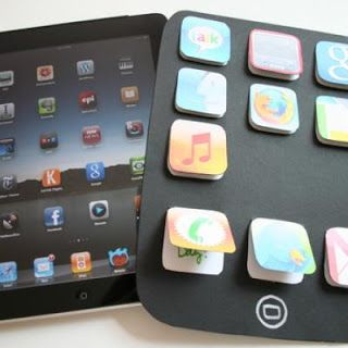 """""""iPad"""" Prayer Idea for Youth Ministry... could also have one for the class with different prayer types, they pick and icon and that's the opening prayer for the day."""