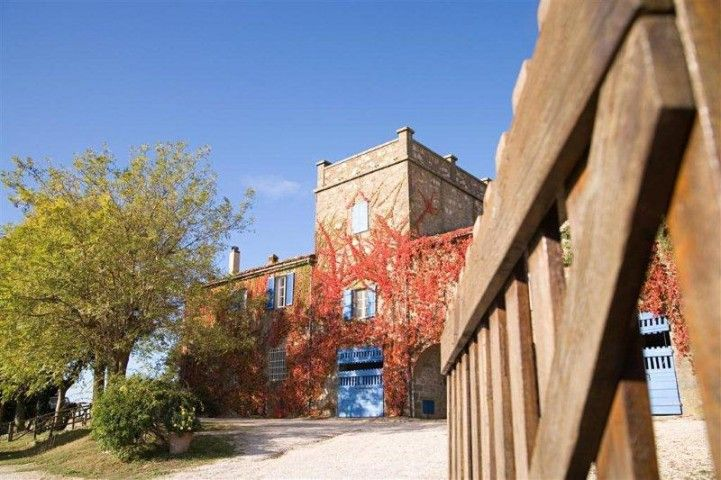 Entrance to the Fattoria La Capitana, home to our summer camps, Tuscany http://www.canadianisland.it/c/gallery