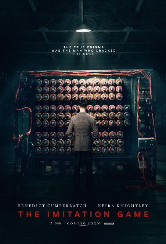 The Imitation Game Exclusive Poster | Movie Galleries | Empire--I am so excited for this movie!