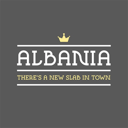 Who cares about font, Albania is the country my family came from <3