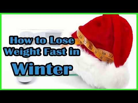 How to Lose Weight Fast in Winter - YouTube