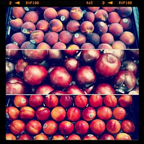 One of the many reasons I love summer: fruit!