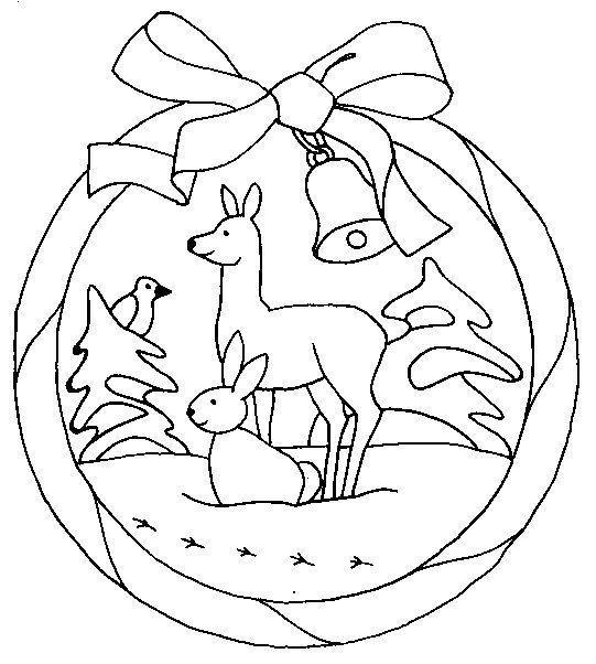 infantiles adornos navideos corona televisor patrn gratis navidad bufandas dibujo plantillas