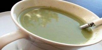 Gyors fogyás és méregtelenítés tejes zöld teával!